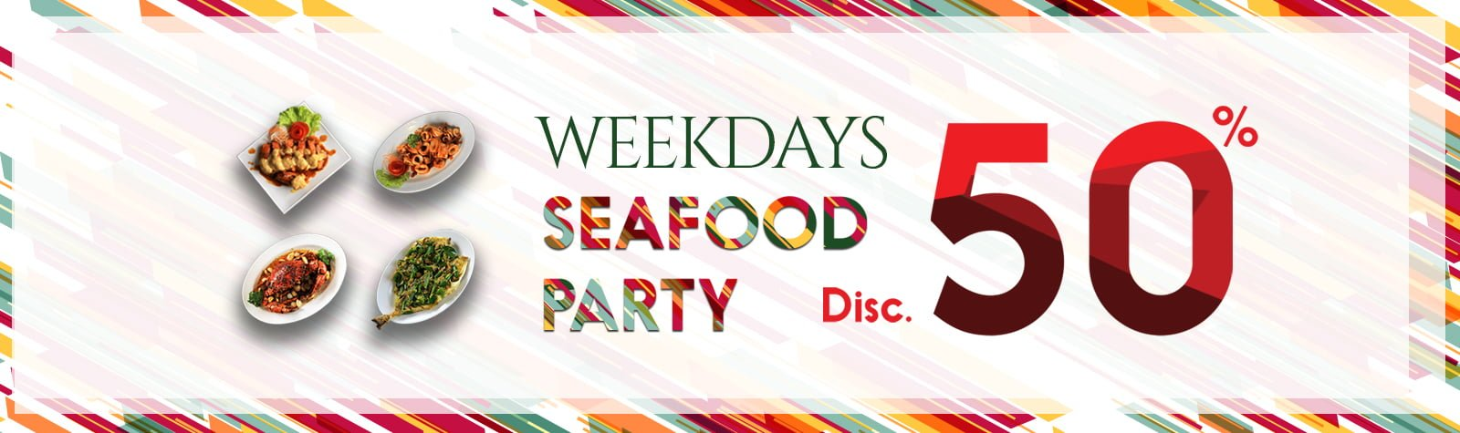 Weekdays Seafood Party