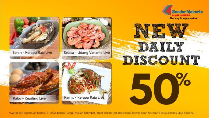 Weekdays Seafood Party